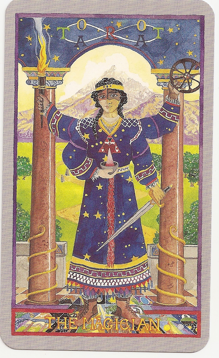 Tarot and more: 4) Tarot Symbolism: The Caduceus: