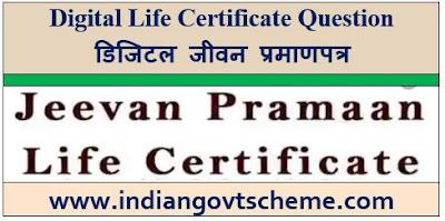 Digital Life Certificate Question