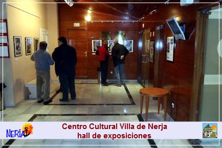 Hall de exposiciones del Centro Cultural Villa de Nerja