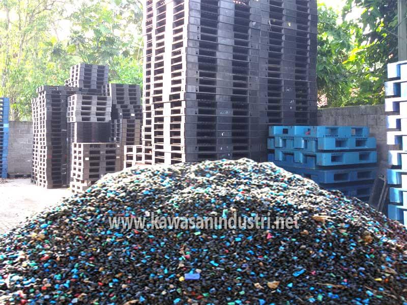 daur ulang limbah pallet plastik