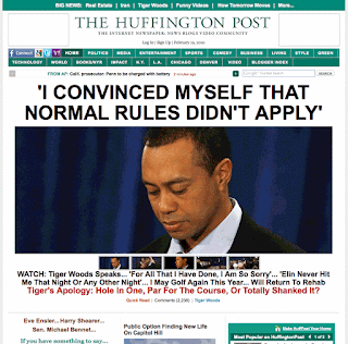 Huffington Post, most popular blog