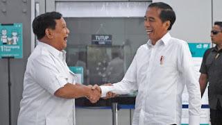 Prabowo bertemu Jokowi