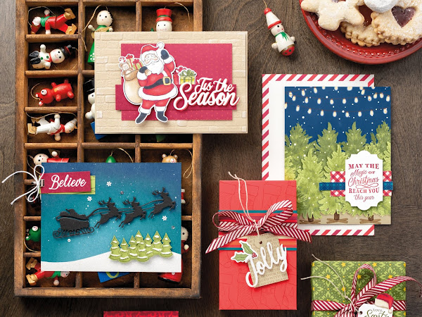 Night Before Christmas Suite By Stampin' Up!