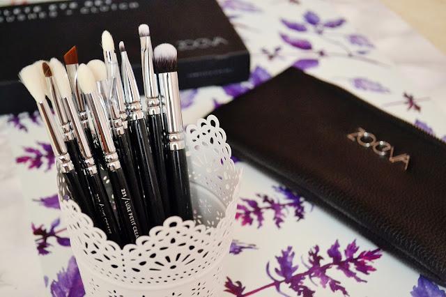 Pędzle Zoeva, Zoeva brushes, najlepsze pędzle do makijażu