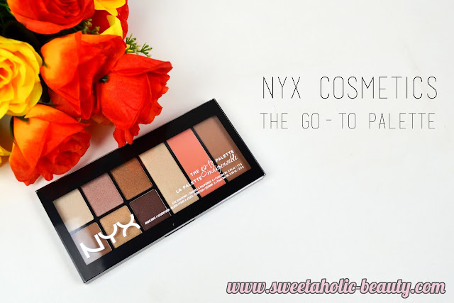 NYX Cosmetics The Go-To Palette Review & Swatches - Sweetaholic Beauty