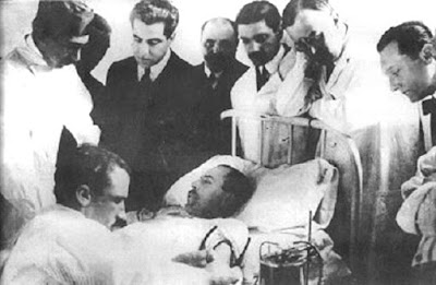 Blood transfusion during World War 1