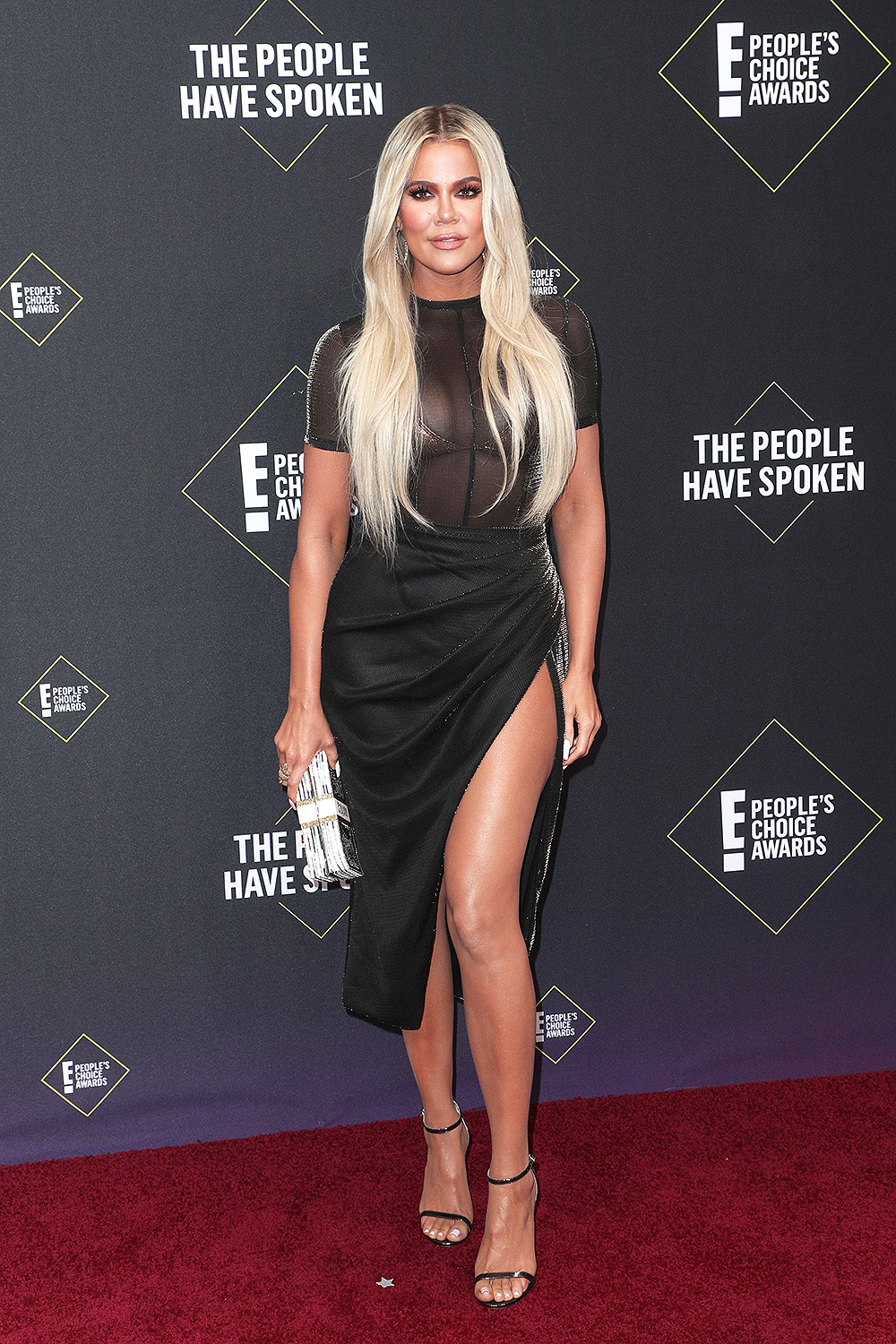 Khloe Kardashian - 2019 People's Choice Awards