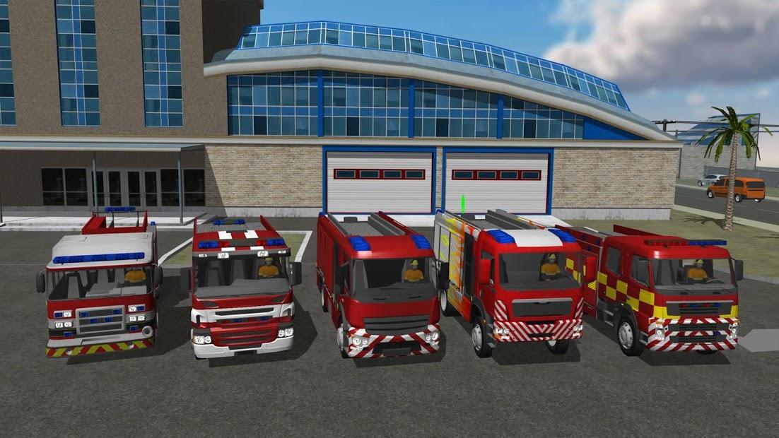 Fire Engine Simulator Hileli APK