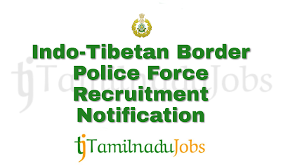ITBP Recruitment 2018, govt jobs for 10th pass