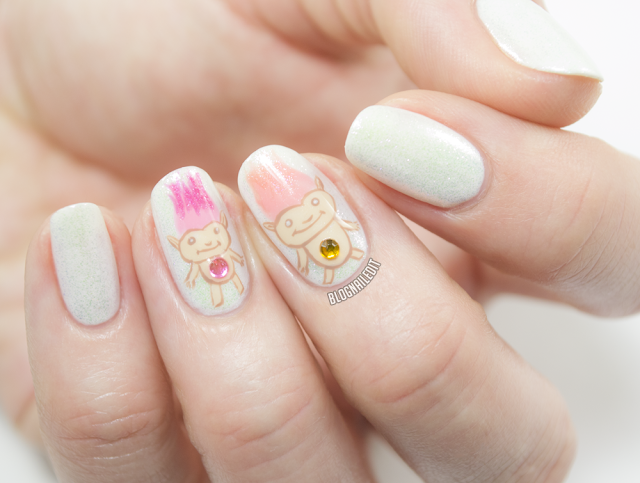 Trolling for Petals by Katy @ Nailed It www.blognailedit.co