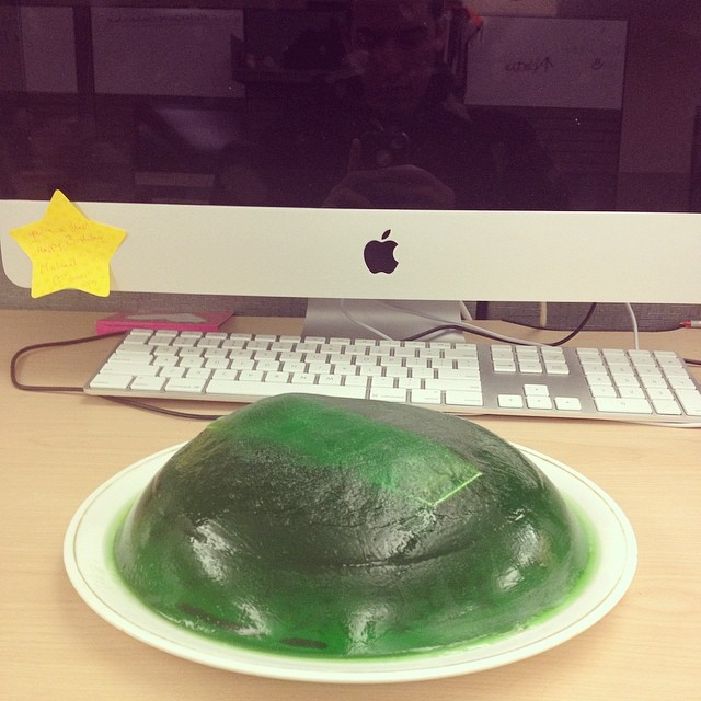 Pull a Jim Halpert and stick office supplies in Jell-o.