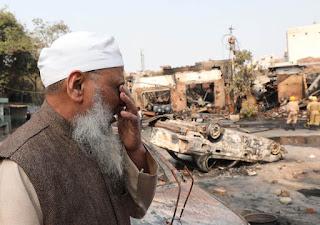 Kisah Umat Muslim Korban Kerusuhan Sektarian di New Delhi India