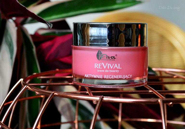 Ava Laboratorium ReVival Aktywnie regenerujący krem do twarzy recenzja