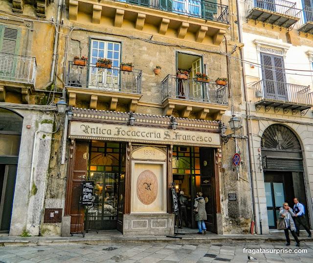 Antica Focacceria San Francesco, Palermo, Sicília