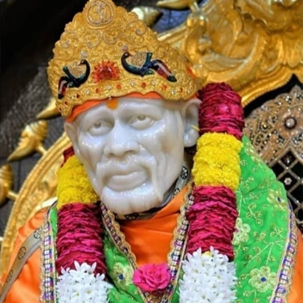 Sai Nath Sai baba in this images temple colorful 2020 Sai Nath Sai baba