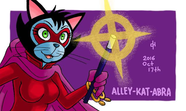 DC, Alley-Kat-Abra