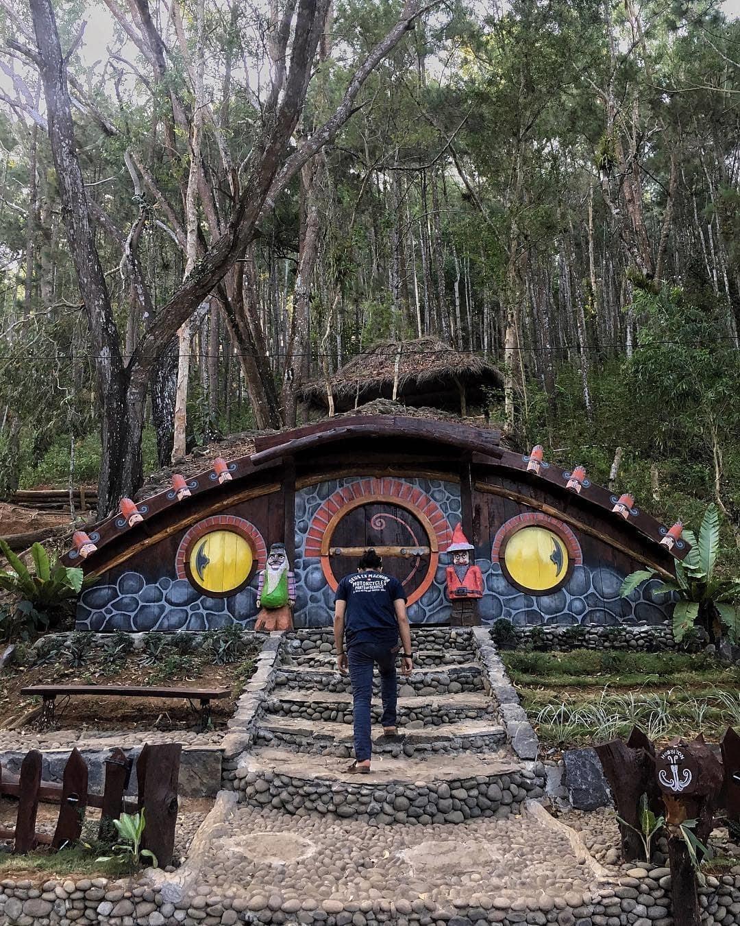 Seribu Batu Songgo Langit Bantul Daerah Istimewa Yogyakarta