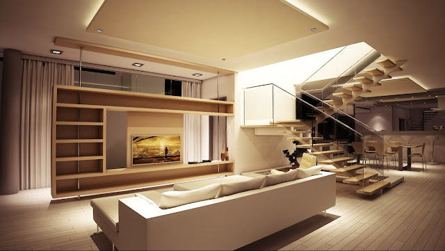 simple Living Room Divider Design Ideas