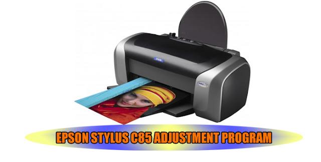 Epson Stylus C85 Printer Adjustment Program