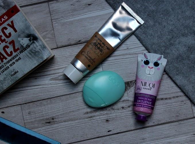 Scandia Cosmetic & Eos &  Niuqi. Czyli zadbaj o swe dłonie...