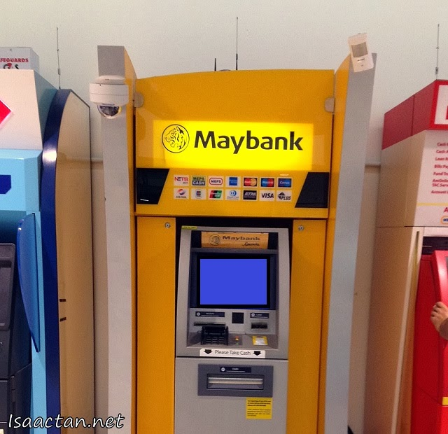 Easily get your cash out from your nearest ATM machine via the Maybank Cardless Withdrawal Service