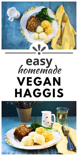 Homemade Veggie Haggis