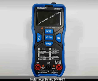 Darmatek Jual Dekko DM-999T AC/DC Digital Multimeter Auto Range - True RMS - Auto select function
