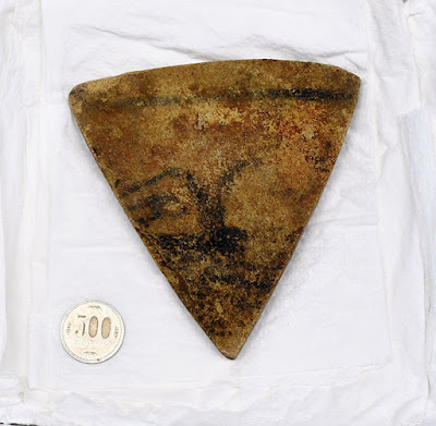 Painted stone finding gives clues to ancient spiritual culture in Japan