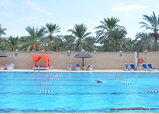 Danat Al Ain Resort Olympic pool