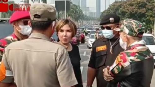 LSM KCH Sorot Kehadiran Natalia Rusli Saat Pengibaran Bendera Merah Putih di PIK, Sebut Ada Pelanggaran Prokes