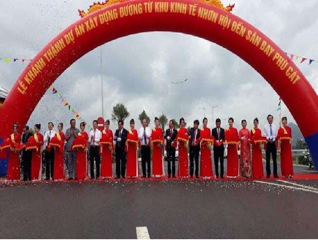 Trục Đường Mới Đến Sân Bay Thúc Đẩy BĐS Du Lịch Bình Định
