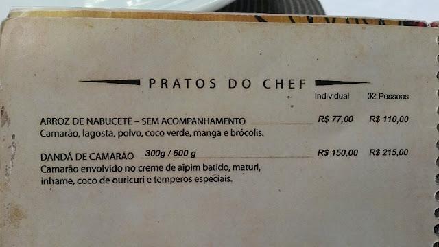 Paraíso Tropical Onde comer em Salvador Bahia Brasil