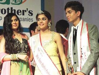 Foto Eisha Singh sebagai Miss Teen Madhya Pradesh