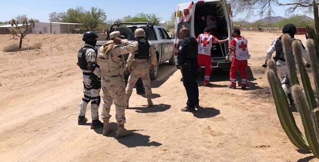 Un Soldado muerto, 7 Sicarios abatidos y 3 heridos deja enfrentamiento entre delincuentes y autoridades en Caborca; Sonora