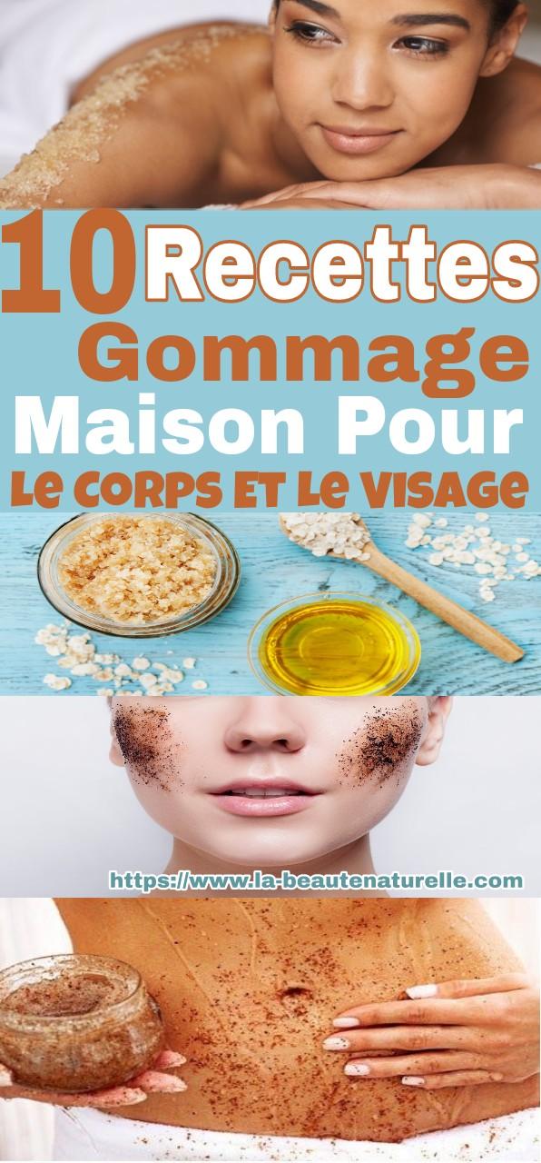 10 Recettes Gommage Maison Pour Le Corps Et Le Visage