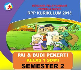 RPP PAI Kelas 1 SD/MI Kurikulum 2013