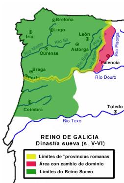 Reino Suevo Galicia