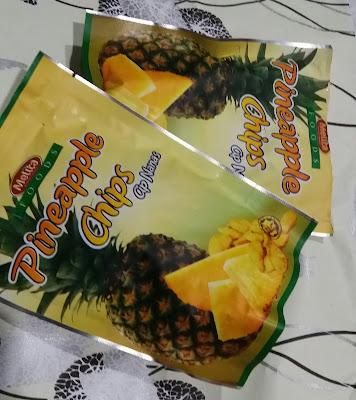 Pineapple Chips Makanan Ringan Daripada Nenas