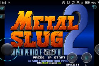 Bernostalgia Bermain Metal Slug 2 di Android