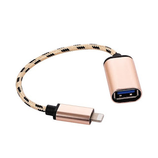 OTG USB to Camera Adapter for Lightning Cable Headphones MIDI Electric Piano Converter Keyboard for iPhone iPad iOS 13 connect