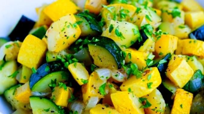 Zucchini Summer Squash Recipe