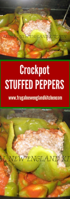 Crockpot Stuffed Peppers for Slow Cooker