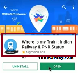 Where is my train apk Icon
