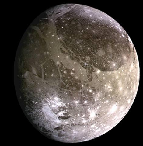 Ganymede - moon of jupiter