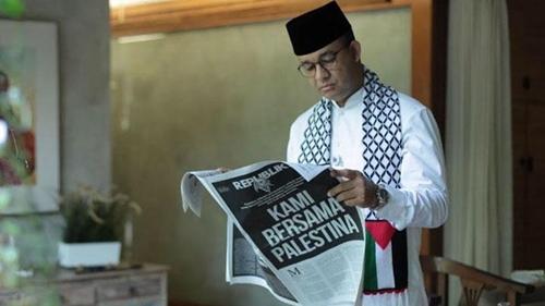 Sentil Anies, FH: Bagaimana Mungkin Covid Selesai? Dia ngurus Palestina Bukan Jakarta