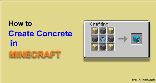 How to Make Concrete in Minecraft? (2021)