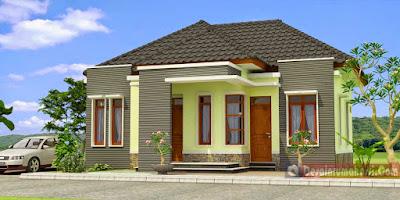 Contoh Desain Rumah Minimalis Atap Limas | Rancanghunian