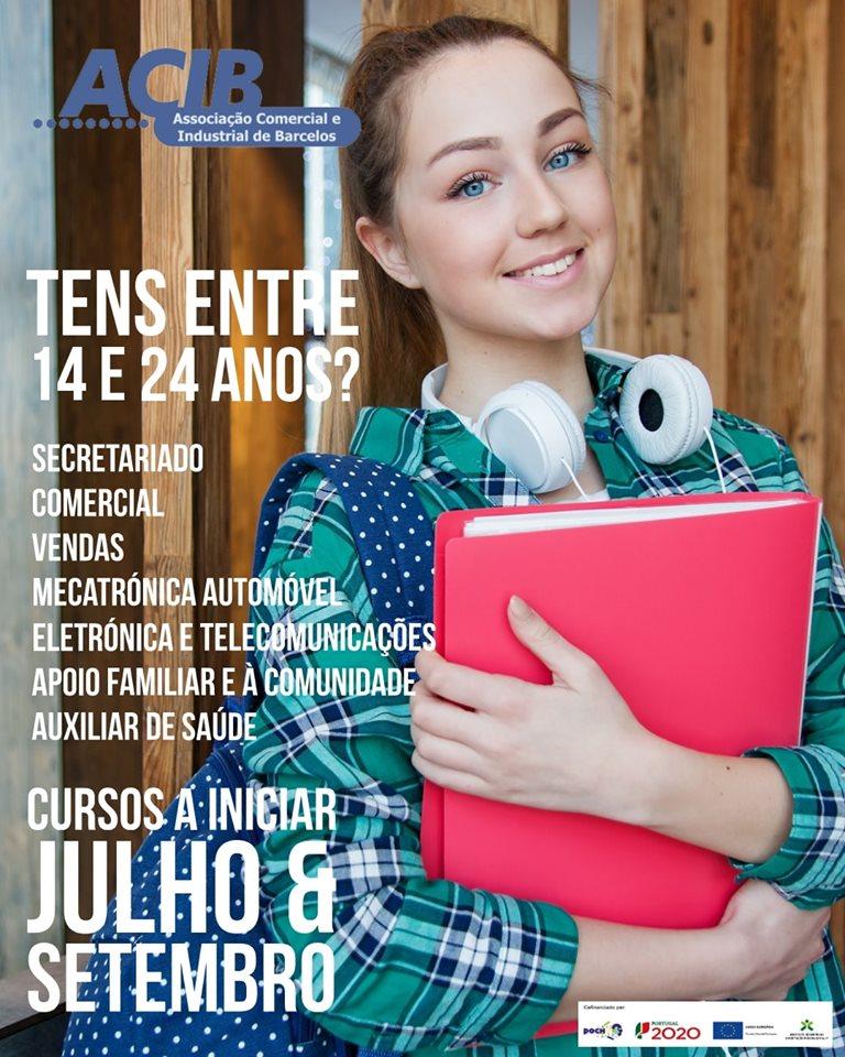 Cursos de aprendizagem Barcelos 2019