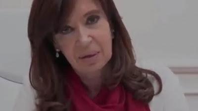 """Cristina apeló a la unidad en un video """"Entre todos podemos volver a construir un país mejor"""""""