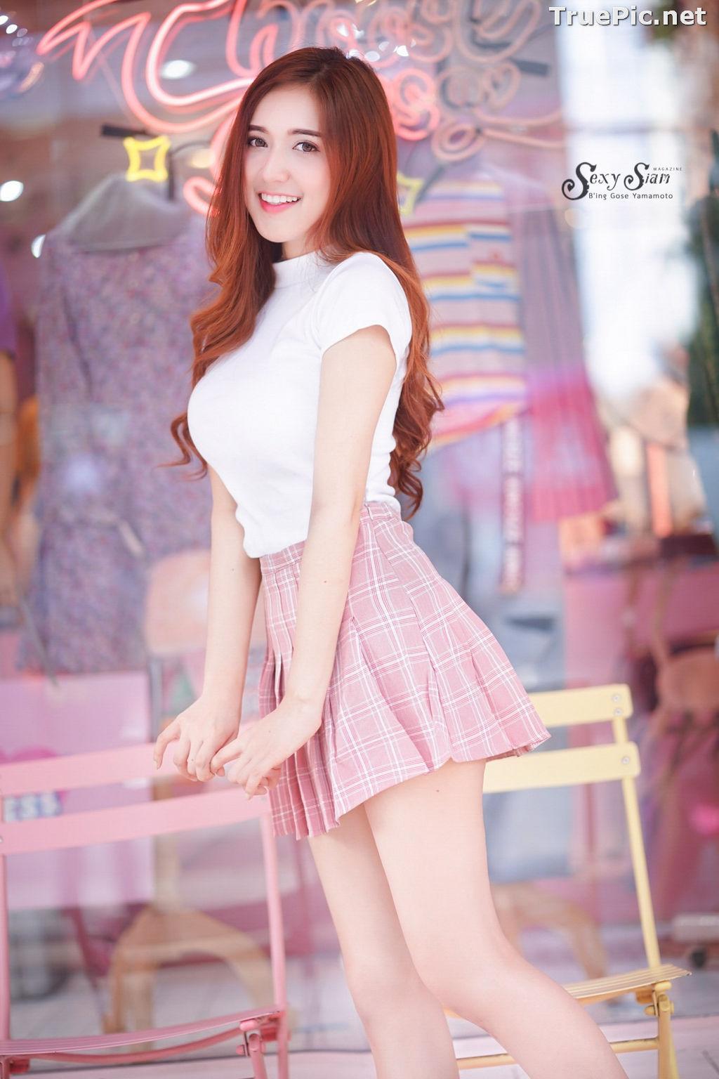Image Thailand Model - Jarunya Boonya - Pink Love Love Love - TruePic.net - Picture-7